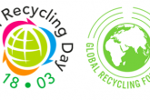 The Global Recycling Day logo