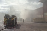 Investigations under way after second fire in a week at Wandsworth recycling site