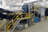 Erdwich recycling equipment supplied to Hong Kong