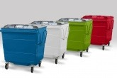 Storm Environmental's new steel waste container lid