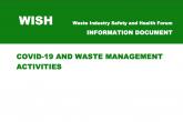 WISH Covid-19 guidance