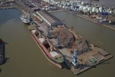 Ward ships out first 20k tonnes of steel from dedicated dock