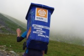 Wheelie bin climbs Snowdon for charity