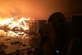 Fire engulfs MRF warehouse