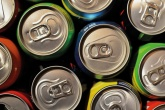 An image of aluminium beverage cans