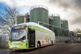 First UK bus to run on AD gas takes to the road