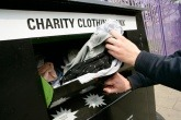 An image of a charity clothing bank