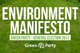 Green Party pledges bottle deposits and environmental law protection