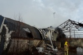 Police investigate arson at illegal Staffordshire recycling centre
