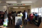 Sheffield food waste market provides Christmas supplies to those in need