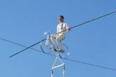 Jade Kindar Martin and partner Karine Mauffrey are set to perform their first Bristol based high wire stunt next week