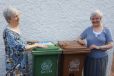 Visually-impaired sisters helped to recycle by adapted wheelie bins