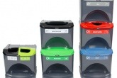 Glasdon's Nexus Stack recycling bin range