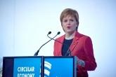 Nicola Sturgeon speaking at the Circular Economy Hotspot in Glasgow