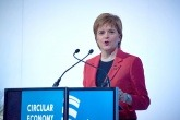 Nicola Sturgeon speaking at the Circular Economy Hotspot in Glasgow