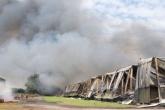 Police questioning man over illegal waste blaze find drug farm