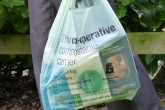 Bioplastic carrier bags 100 per cent biodegradable in AD plants