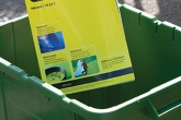 Annual English recycling rate up by just 0.6 per cent