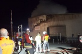 100 firefighters tackle blaze at SUEZ waste transfer station