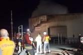 100 firefighters tackle blaze at SUEZ waste transfer station
