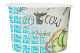 Happy Cow cheese packaging with digital watermarks