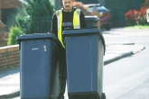 'Bigger waste bins lead to less recycling'