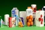 Selection of drinks cartons