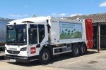 Biffa waste collection vehicle.
