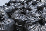 Selection of black bin bags