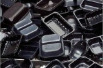 Black plastic packaging