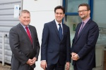 Miliband visits Tetronics and Advanced Plasma Power