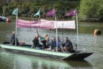 Second boat made from recycled plastic sets sail on the Thames