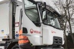Veolia waste vehicle