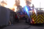Site fire destroys £100k of recycling equipment