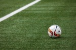 Football on a football pitch