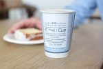 Starbucks to test disposable cup that's aiming to solve coffee's recycling quandry