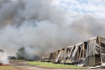Police questioning man over illegal waste blaze find drug farm