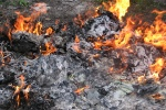 Waste fires account for nearly half of all deliberately set fires in mid-Wales