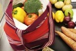 An image of a food shopping bag