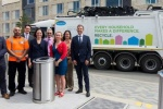 No wheelie bins to be seen as UK's largest underground bin system takes first load