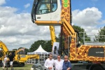 Ward Recycling goes wild for recycling with giraffe and cheetah