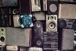 An image of some waste electrical and electronic equipment (WEEE)