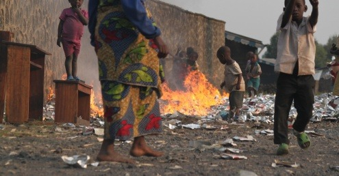 The dumping and burning of plastic waste is resulting in one death every 30 seconds in developing countries.