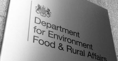 A sign for Defra, which is developing post-Brexit environmental policy