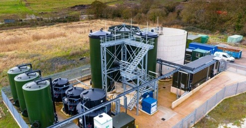 Viridor's Dimmer Leachate Treatment Plant