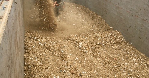 Geminor's export of crushed wood