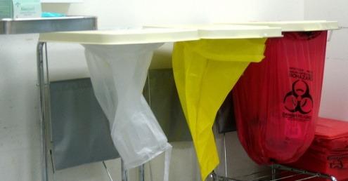 NHS waste backlog sees human body parts pile up