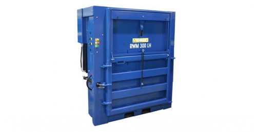 Riverside Waste Machinery introduces low-height baler for space restricted organisations