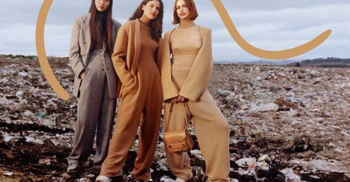 Waste takes centre stage in new Stella McCartney campaign