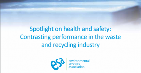 ESA report notes wide variation in UK waste industry health and safety performance